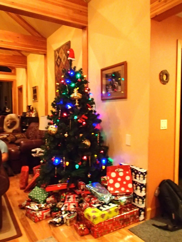 The Christmas Tree and presents