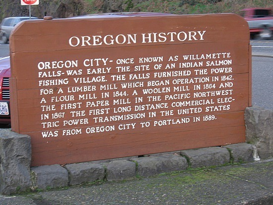 Local History sign