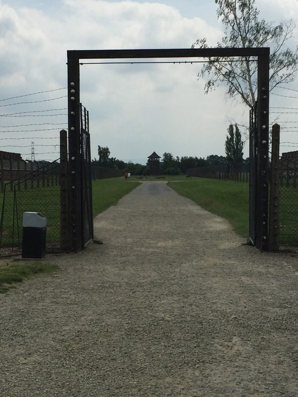 Gate to the womens camp