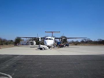 Plane to Johannesburg