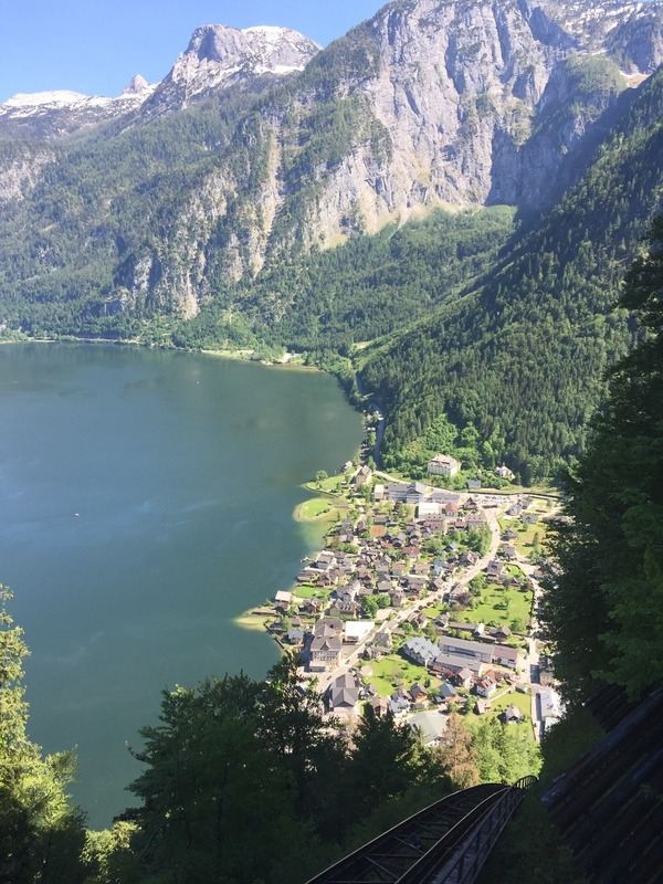 From the funicular