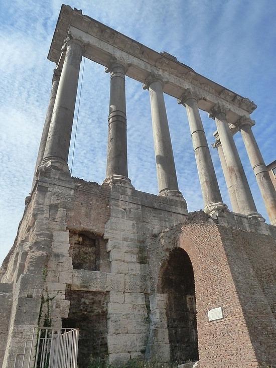 Temple of Saturnas
