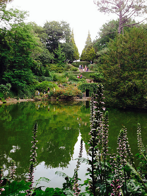 Beautiful lake & gardens