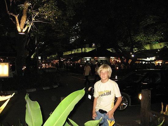 Dinner near Night markets
