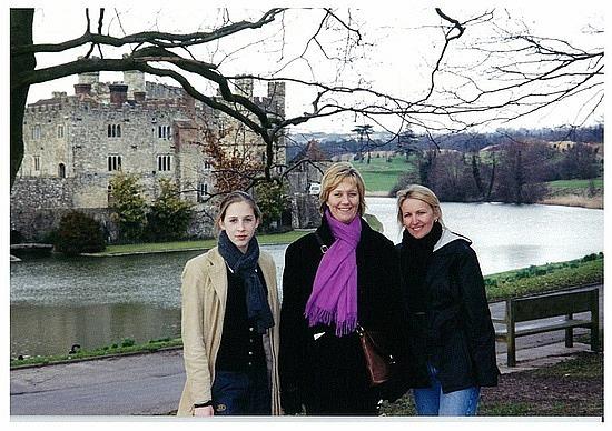Crystal & Gemma at Leeds Castle