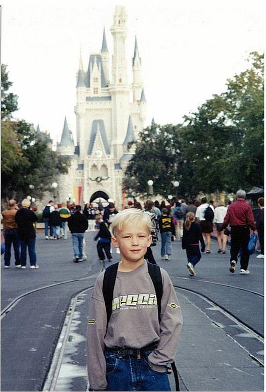 Nick at Magic Kingdom
