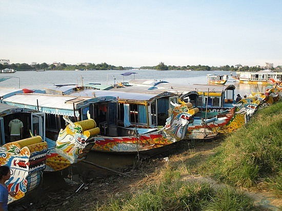 Dragon Boats on the Perfume River