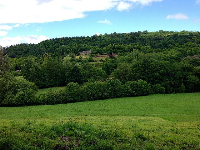 Village on a hill
