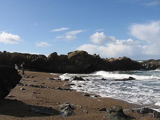 Beach south of San Fran