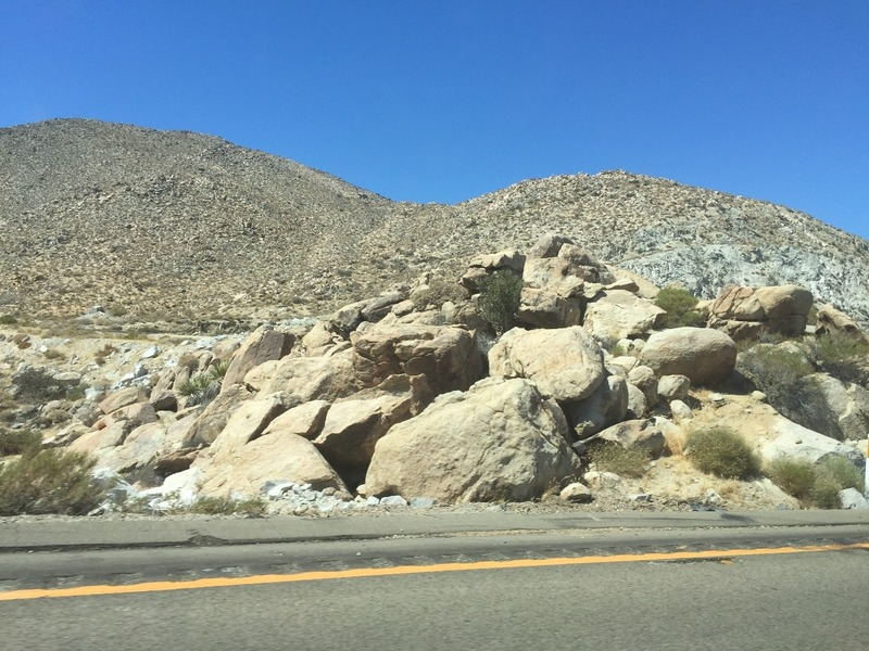 Driving from San Diego to Yuma