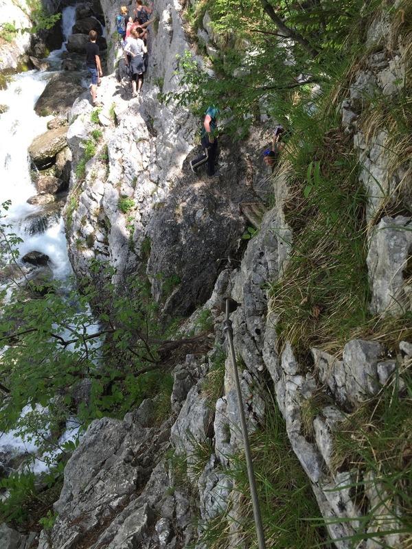 Climbing to the Soca Source