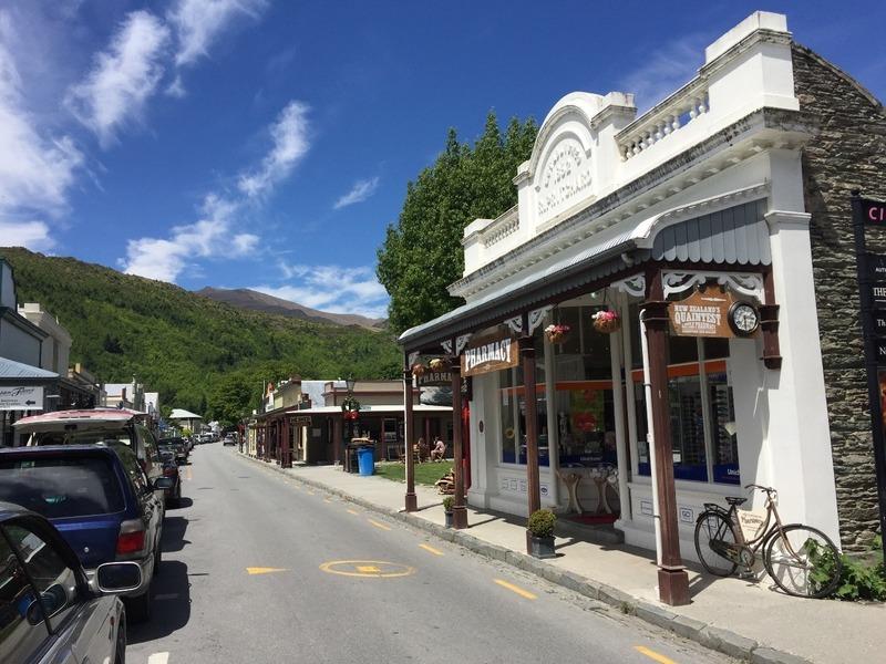 Quaint historic street