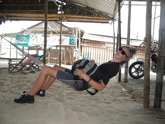Nath loving hammock time
