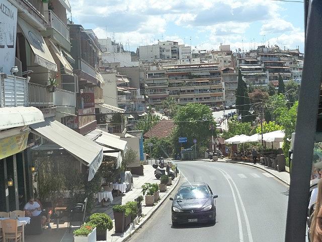 Hillside buildings of Thessalonika