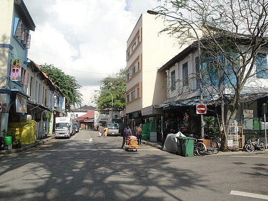 Local streets