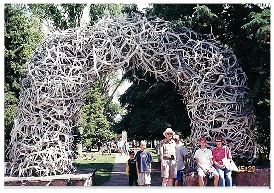 Antlers in Jackson Hole