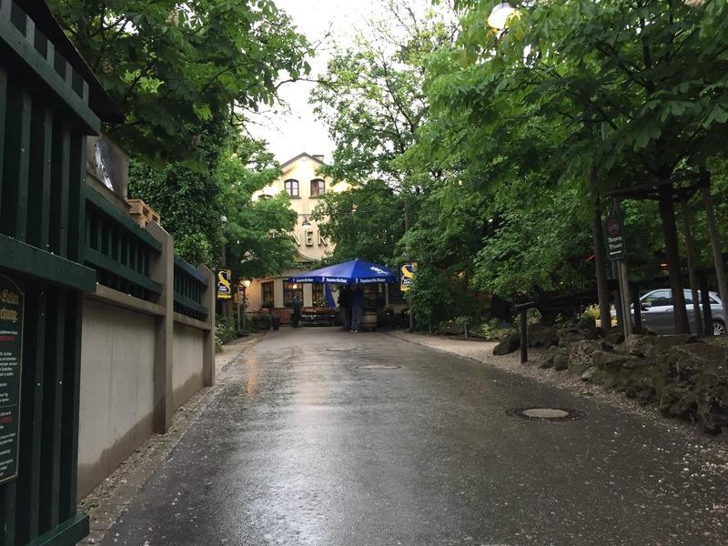 Entrance to Augustiner Keller