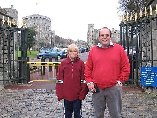 Nath & Stephen at Windsor Gates