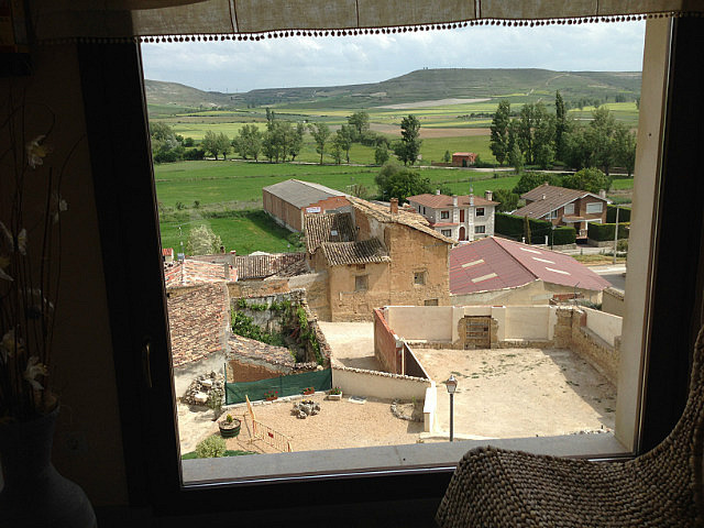 View from our albergue