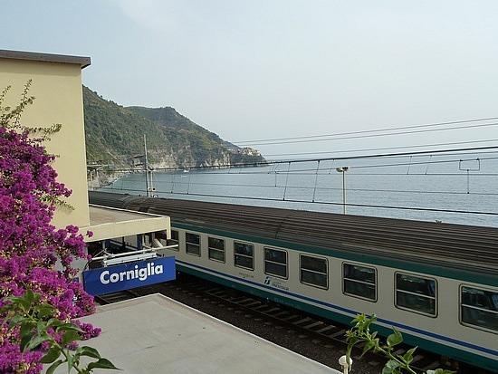 Arrived at Corniglia in Cinque Terre