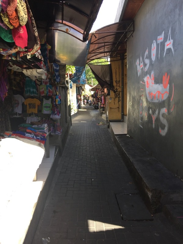 Kuta laneways