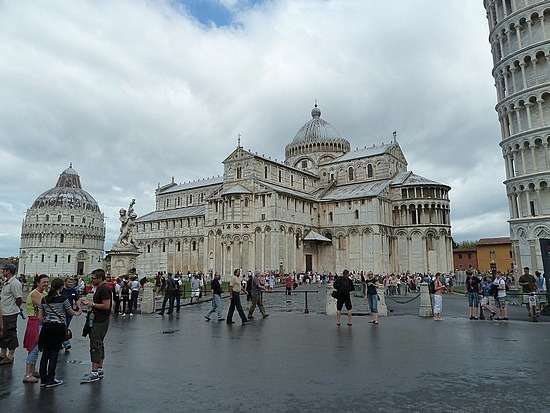 Pisa Cathedral and Baptiserie