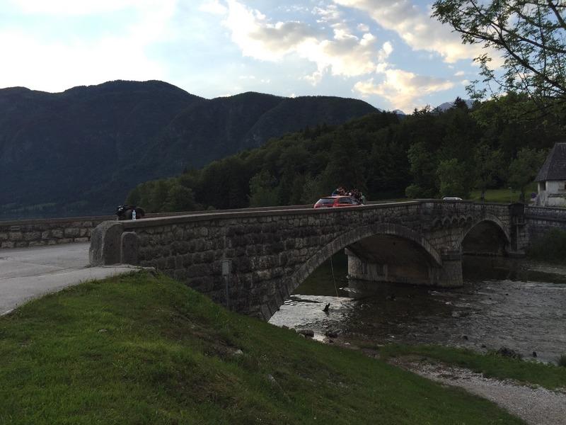 Bridge at Lake Bohinjska