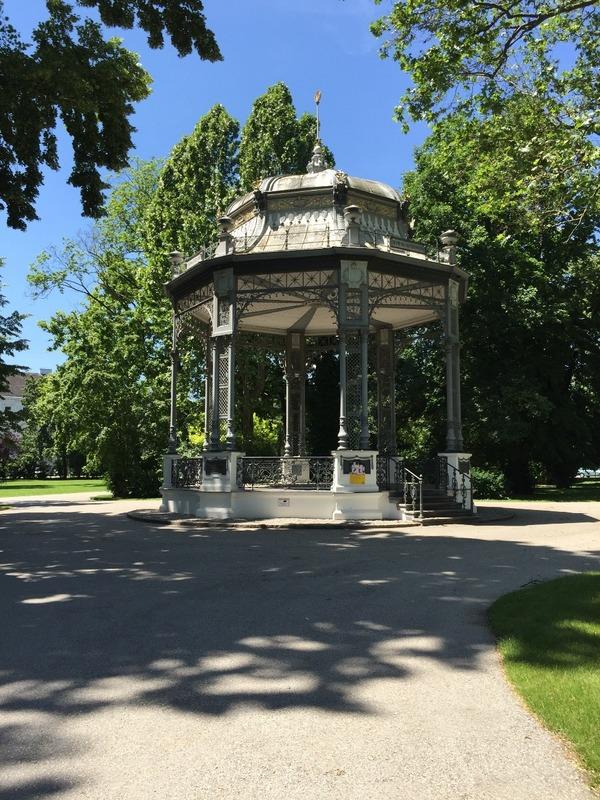 Park rotunda in Krems