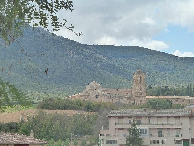 Monastery outside Estella