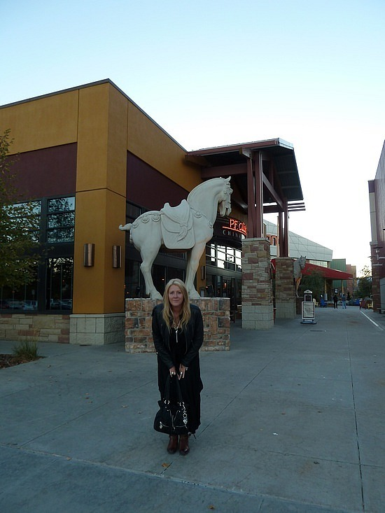 Leigh at PF Changs
