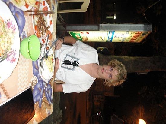 Dinner at Street Cafe