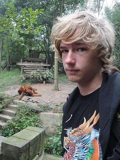 Nath at Red Pandas