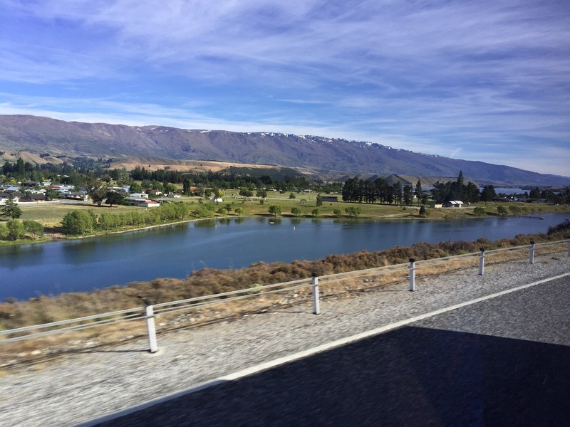 Scenic drive from Queenstown to Clyde
