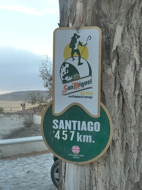 Nearly half way there in Castrojeriz