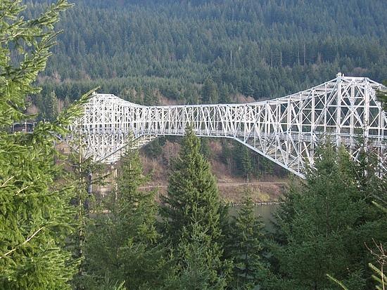 Bridge over to Washington state