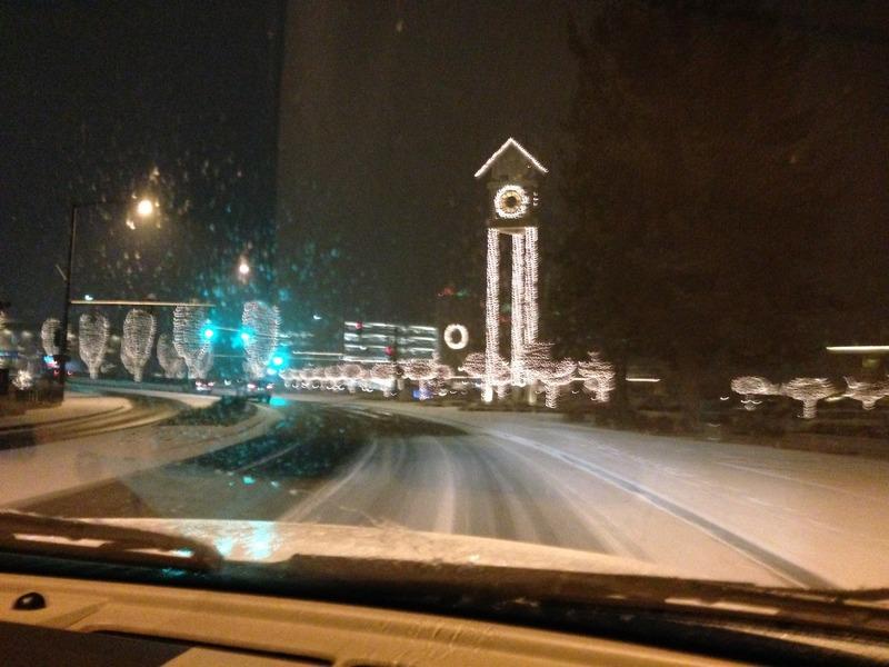 The Lights of Coeur d'Alene