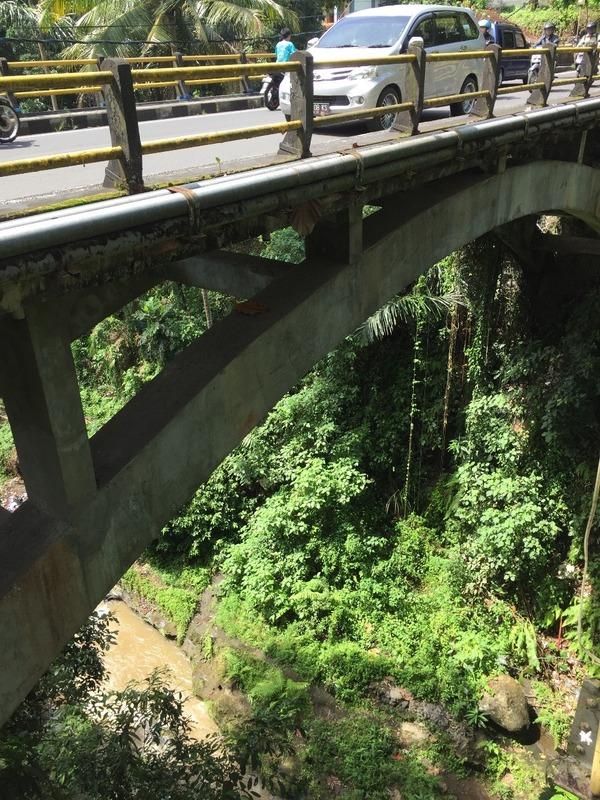 Bridge over deep gorge