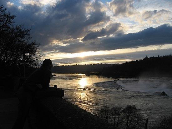 Orgegon City Williamette Falls