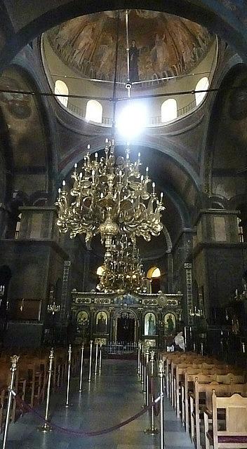 Ornate Greek Orthodox church
