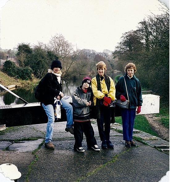 Grand Union Canal with Aunty Hilda