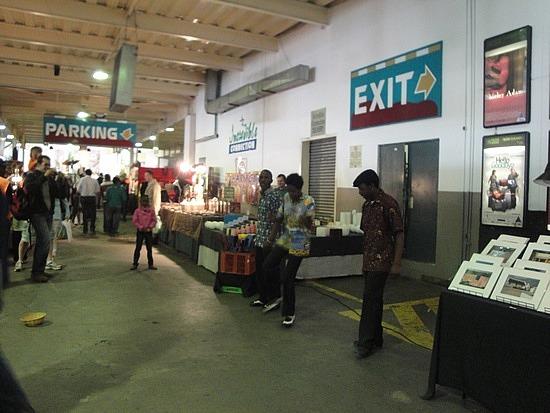 Tapdancers at Flea Market