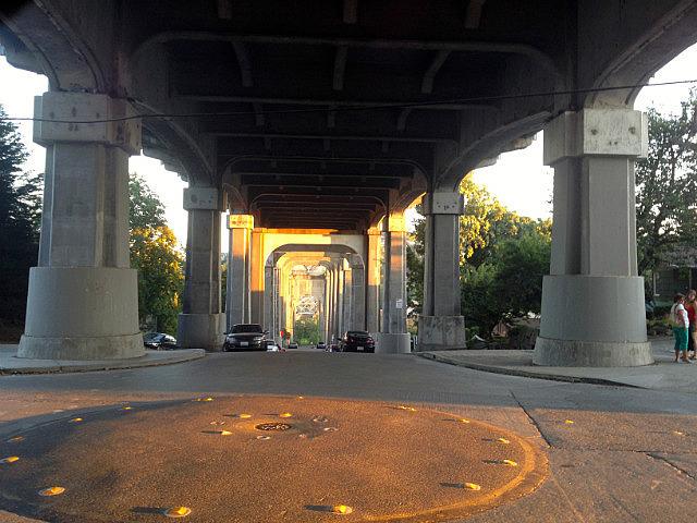 Under the troll bridge
