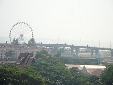 View to Eye of Malaysia