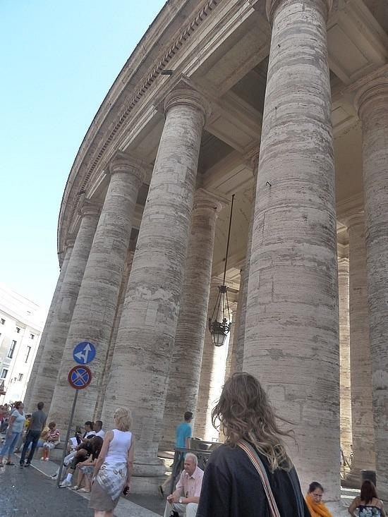Vatican portico