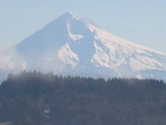 Mt Hood from a distance