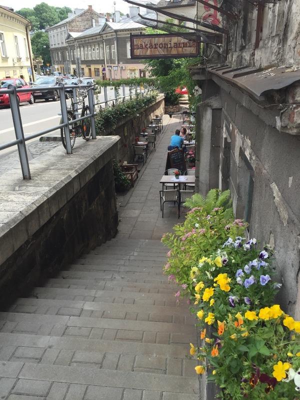 Pretty cafe area