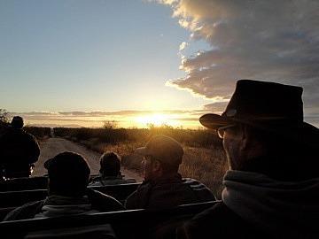 Brad & sunset
