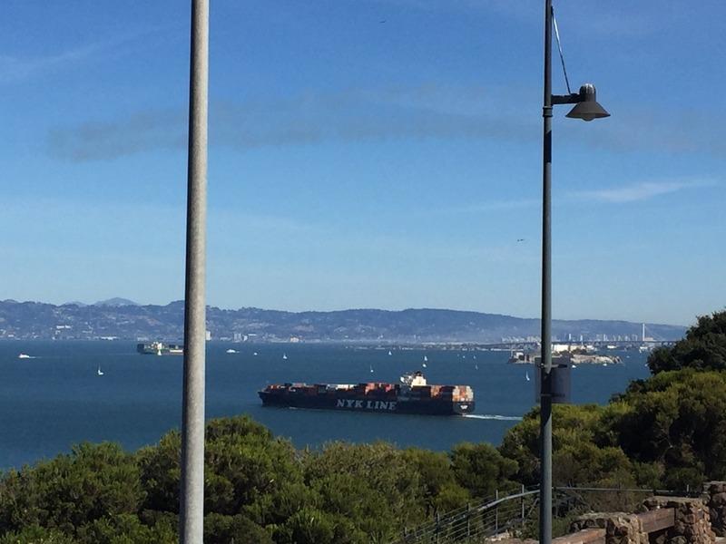 Tanker heading to Oakland