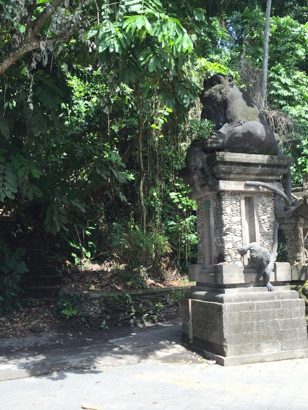 Monkey Forest entrance
