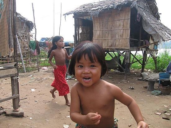 Cutie in village
